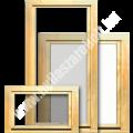 Egyszárnyú borovi fenyő fa ablak bukó-nyíló szárnnyal