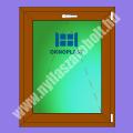 Oknoplast Pixel 6 kamrás egyszárnyú műanyag ablak bukó szárnnyal