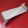 Fehér hajlított alumínium ablakpárkány
