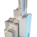 Akciós általános 70 mm-es fehér tokszélesítő/tokmagasító profil