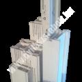 Tokszélesítő/tokmagasító profil: 25 mm Optimum profilhoz