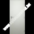 Dekorfóliás tömör belső ajtó fehér színben