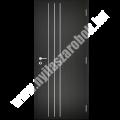 Dekorfóliás aluminium-intarziás belső ajtó - Line 2