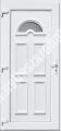 TEMZE-1. üveges egyszárnyú befelé nyíló műanyag bejárati ajtó