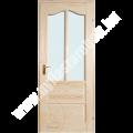 Róna akciós üveges beltéri ajtó - 75x210 cm natúr