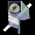 Külső vakolhatótokos műanyag redőny -EV2