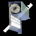 Külső vakolhatótokos műanyag redőny integrált szúnyoghálóval -EV2K (csak repülőrovarok ellen)