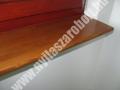 Borovi fenyő fa beltéri ablakpárkány, felületkezelt