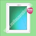 Rehau passzívházas egyszárnyú műanyag ablak bukó szárnnyal