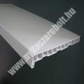 Fehér, simafelületű műanyag ablakpárkány akció