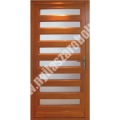 ZEBRA - egyszárnyú fa bejárati ajtó