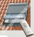 VELUX SSL napelemes működtetésű redőny távirányító nélkül