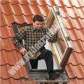 VELUX GXL tetőkijárat fűtött lakóterekbe