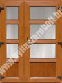 Szárnyosztott /tele - külső oldalon fóliázott műanyag bejárati ajtó online