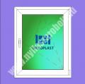 Oknoplast Platinium 6 kamrás egyszárnyú műanyag ablak bukó-nyíló szárnnyal