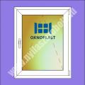 Oknoplast Platinium 6 kamrás egyszárnyú műanyag ablak bukó szárnnyal