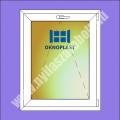 Oknoplast 7 kamrás egyszárnyú műanyag ablak bukó szárnnyal